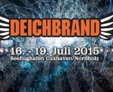 Deichbrand-Festival 2015 – Feiern am Meer!